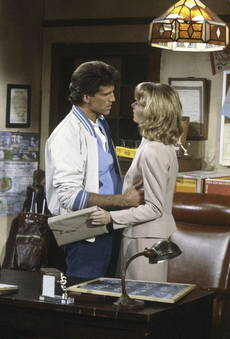 <p>Ever heard of a little TV show called <em>Cheers</em>? Diane Chambers, played by Shelley Long, had the best style (she really loved a good blazer) and was often seen carrying an envelope clutch. </p>