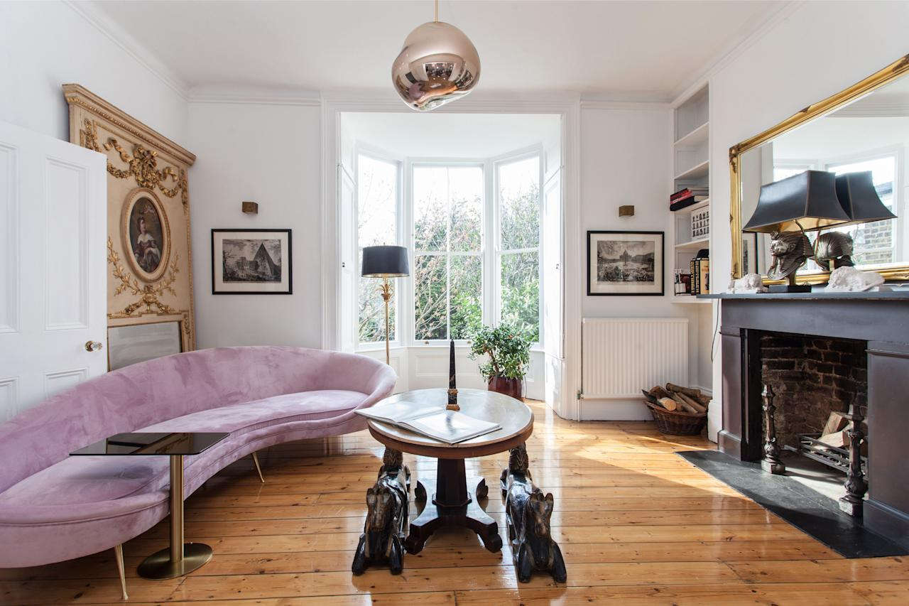 """<p>Roy said: """"It is a beautiful mid-19th century home which is spacious, light and airy – it is a great place to think. <br /><br />""""The London property market is a bit slow at the moment and I am really interested in cryptocurrency so I thought it would be good to give someone the possibility of using Bitcoin to buy a wonderful home."""" (SWNS.com) </p>"""