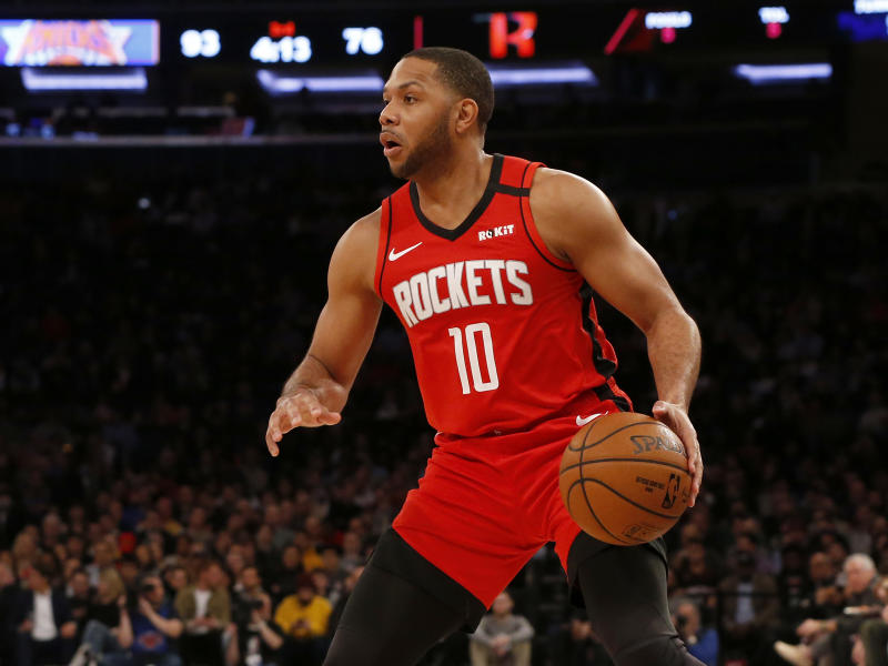 Houston Rockets guard Eric Gordon