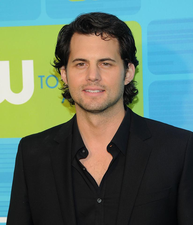 """<a href=""""/kristoffer-polaha/contributor/830995"""">Kristoffer Polaha</a> (""""<a href=""""/life-unexpected/show/44830"""">Life Unexpected</a>"""") attends the 2010 The CW Upfront at Madison Square Garden on May 20, 2010 in New York City."""