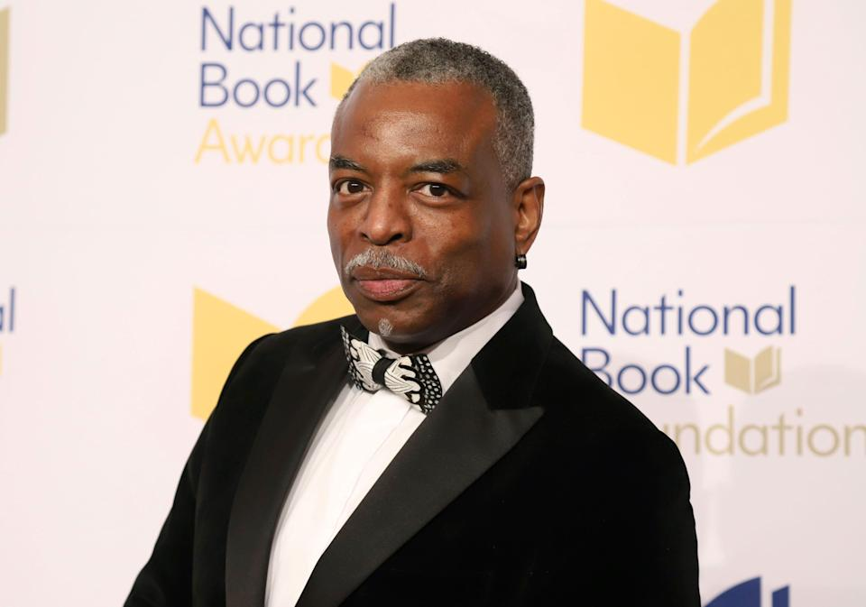 """LeVar Burton attends the 70th National Book Awards ceremony in New York on Nov. 20, 2019. Burton launched the LeVar Burton Book Club with the Fable app, described on its website as a means to discover, read and discuss books, and help foster """"human connection"""" and mental health."""