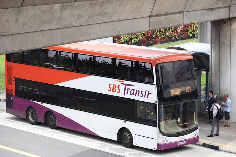 The civil suits against SBS Transit were filed with the State Courts on 28 February. (Yahoo News Singapore file photo)