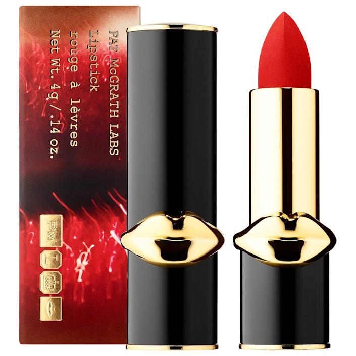 pat mcgrath labs, best red lipsticks