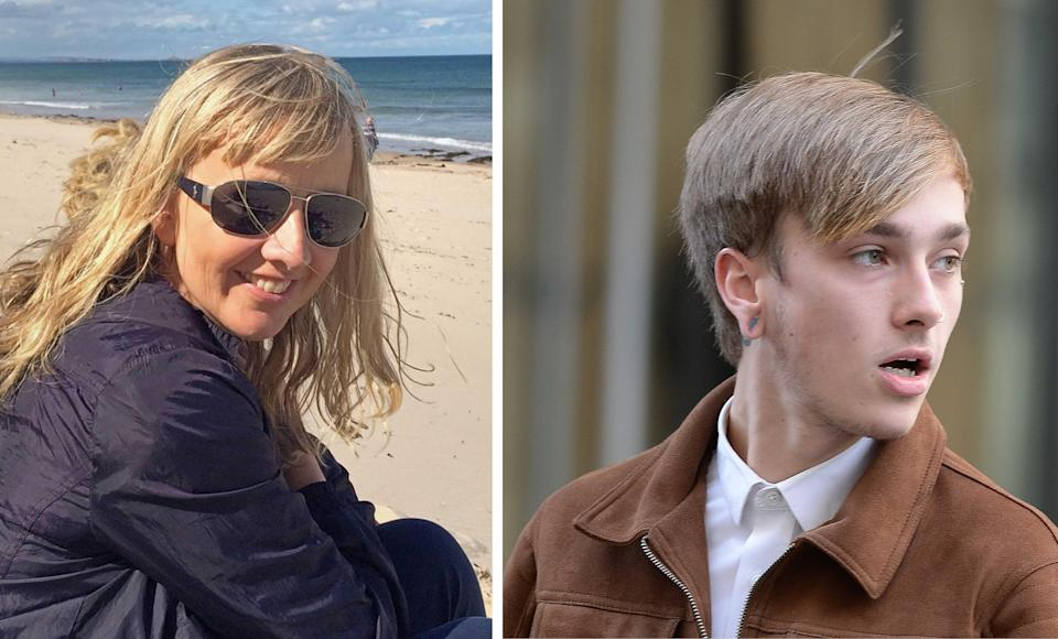 Charlie Alliston was allegedly riding at 18mph on a fixed-wheel track bike with no front brakes when he collided with Kim Briggs (PA)