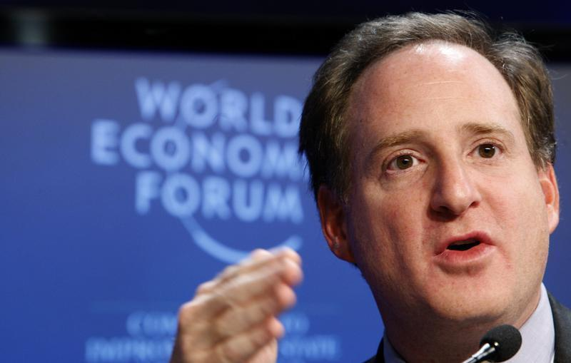 Eton Park Capital Management Founder and CEO Mindich attends session at WEF in Davos