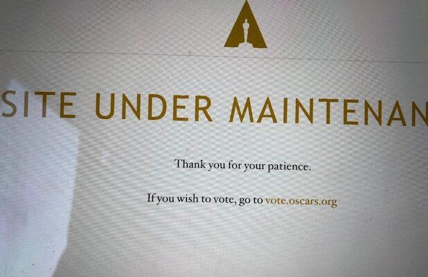 Oscars' Streaming Site Goes Down One Day Before Voting Ends