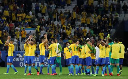 Football Soccer - Brazil v Paraguay - World Cup 2018 Qualifiers
