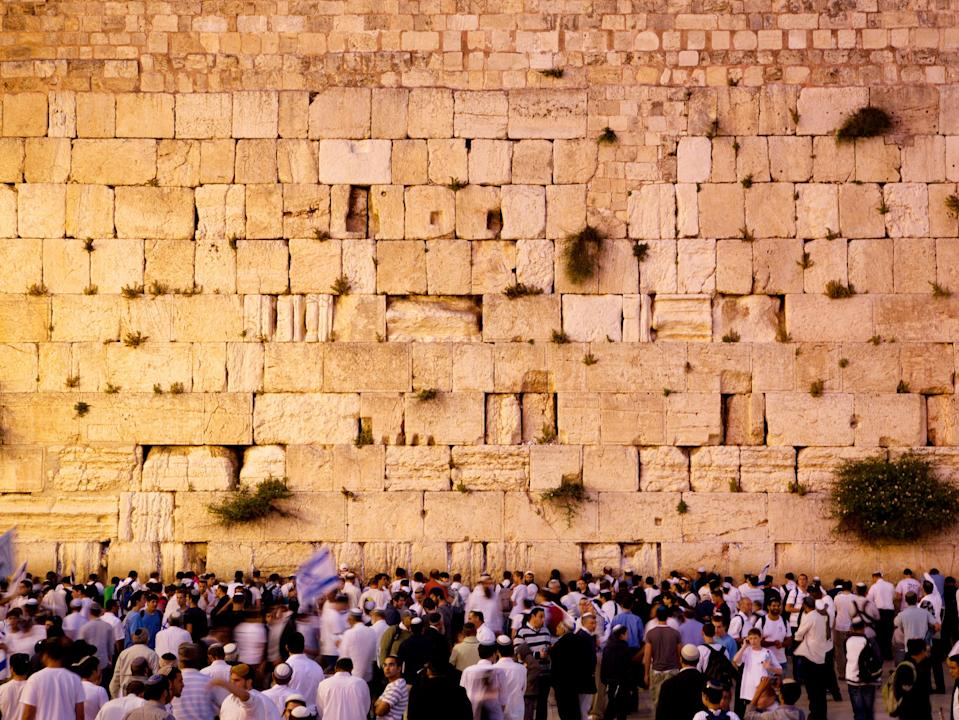 The Western Wall (Israel Tourist Office )