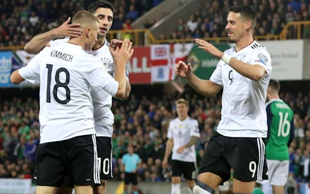 "Germany coasted through World Cup qualifying with 10 wins out of 10 and a European record 43 goals. Then the problems began - and a reality check. The World Cup holders haven't won any matches since qualifying for Russia. After drawing friendlies against England, France and Spain, Joachim Low's team lost 1-0 to Brazil to end a 22-game unbeaten run. Becoming the first team since Brazil in 1962 to defend their World Cup title now looks even trickier for the Germans. ""We're not as good as we're made out to be, or as some think we are,"" midfielder Toni Kroos said. ""There's huge room for improvement."" The recent slump in friendly matches could be a blessing in disguise if they eradicate any complacency going into the World Cup. World Cup 2018 