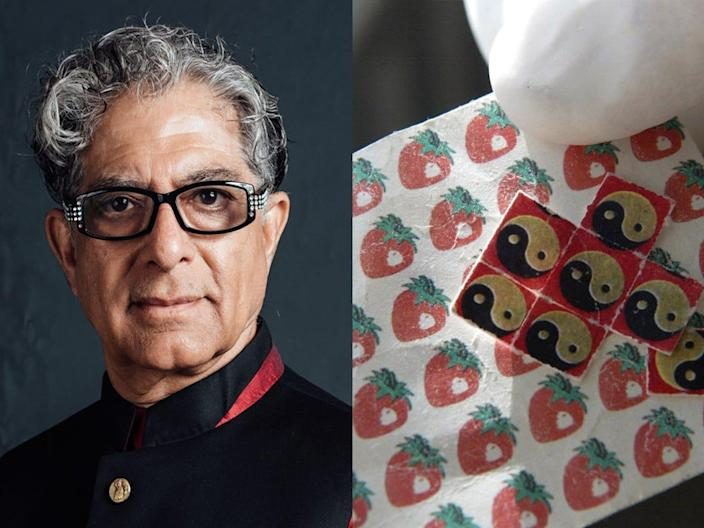 Deepak Chopra's Chopra Foundation is partnering with psychedelic research company Mind Medicine.
