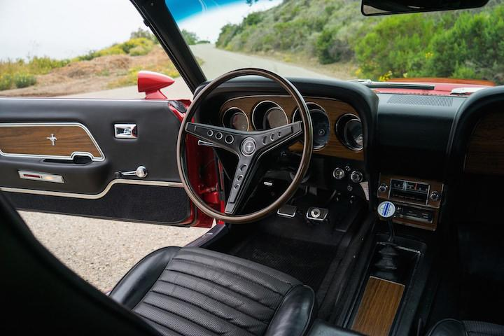 1969 ford mustang boss 429 ready to turn heads at auction. Black Bedroom Furniture Sets. Home Design Ideas