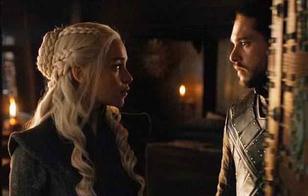 The sexual tension was building. Source: HBO