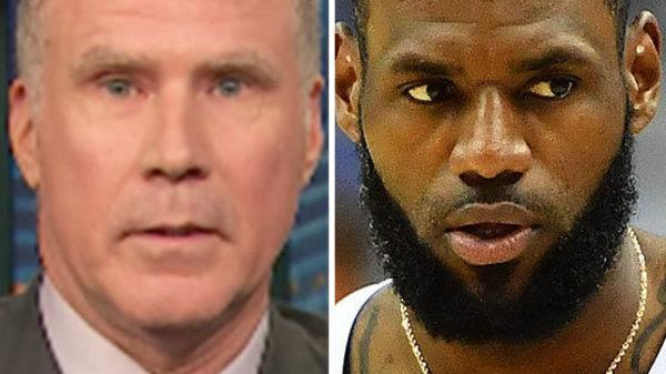 Will Ferrell really wants LeBron James to make a play for the White House.