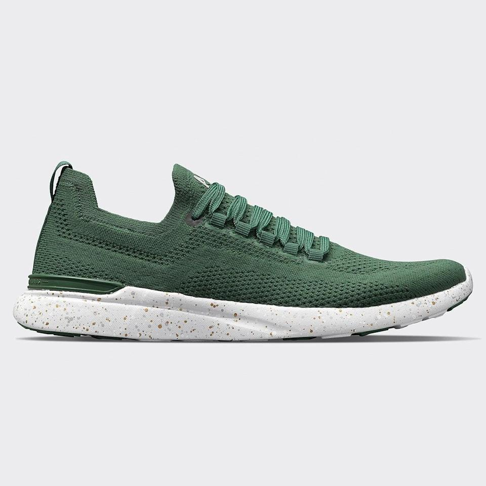 <p>They can exercise and also lounge around in these <span>APL TechLoom Breeze</span> ($200) sneakers.</p>