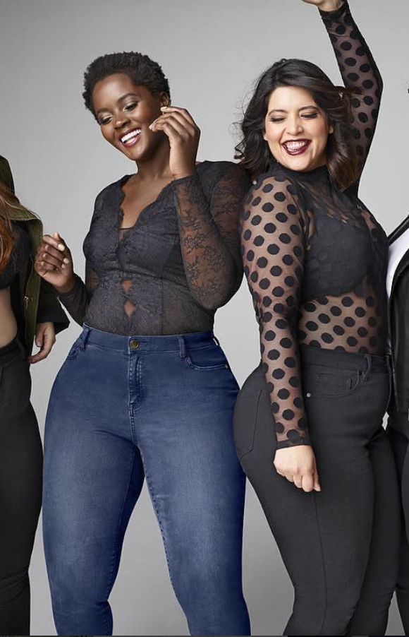 <p>Known for her signature cropped hair, this English model has repped brands such as Nordstrom, Lane Bryant, and Torrid. (Photo: Instagram/philomenakwao) </p>