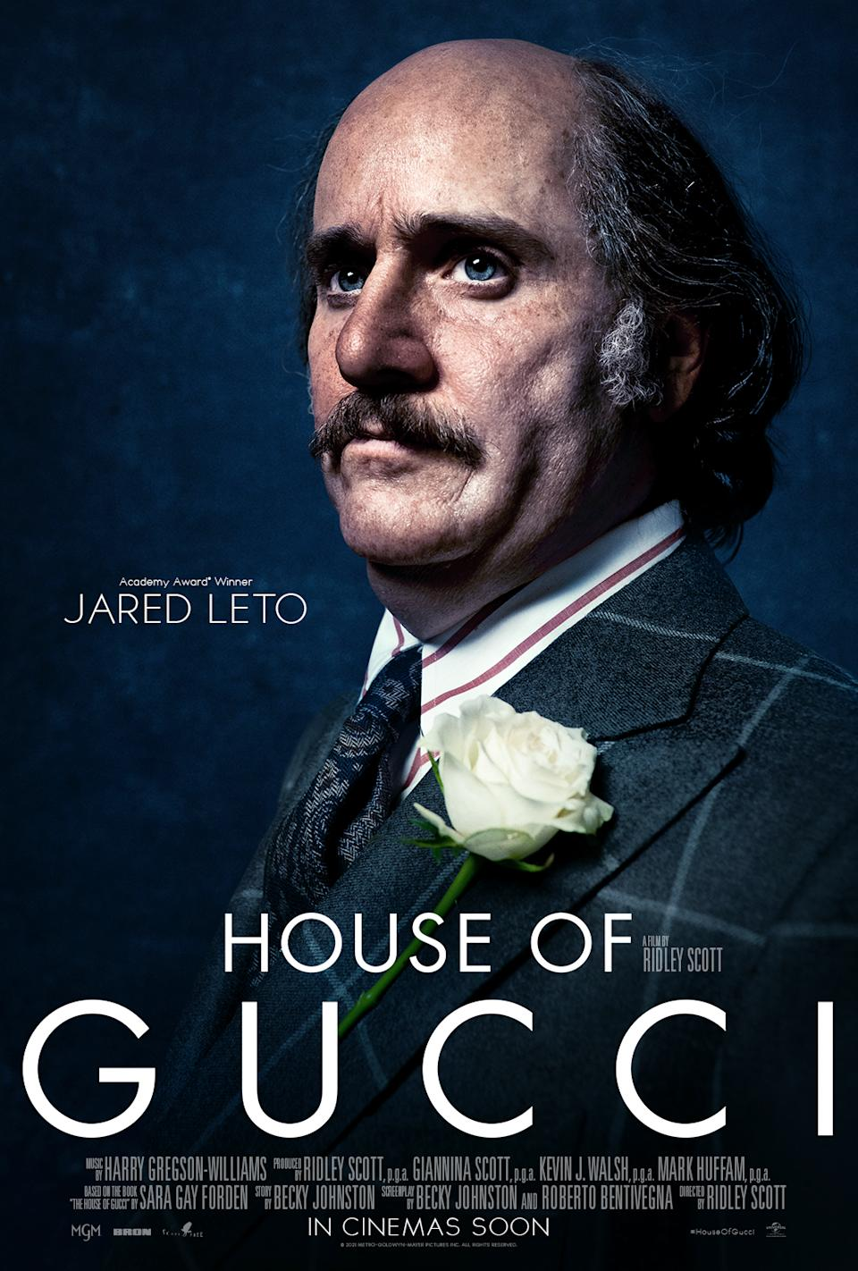Jared Leto in House of Gucci (Universal Pictures)