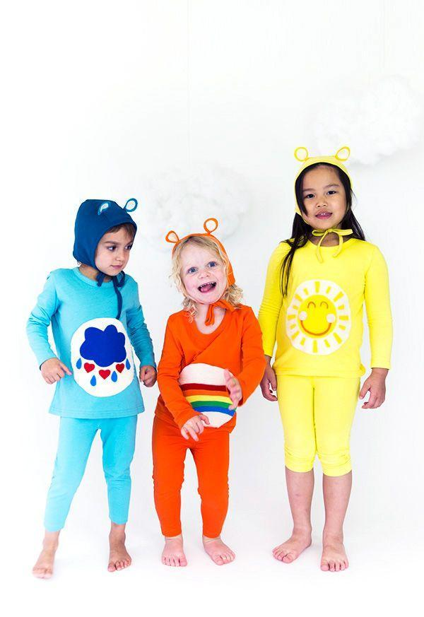"""<p>Friendship knows no age. Team up with some other moms and pull off a truly adorable group costume.</p><p><strong>Get the tutorial at <a href=""""http://sayyes.com/2016/09/care-bears-halloween-costume"""" rel=""""nofollow noopener"""" target=""""_blank"""" data-ylk=""""slk:Say Yes"""" class=""""link rapid-noclick-resp"""">Say Yes</a>.</strong></p><p><strong><a class=""""link rapid-noclick-resp"""" href=""""https://go.redirectingat.com?id=74968X1596630&url=https%3A%2F%2Fwww.primary.com%2Fshop%2Fkids%2Fthe-slim-t-shirt%3Fcolor%3Dsunshine&sref=https%3A%2F%2Fwww.countryliving.com%2Fdiy-crafts%2Fg21349110%2Fbest-friend-halloween-costumes%2F"""" rel=""""nofollow noopener"""" target=""""_blank"""" data-ylk=""""slk:SHOP LEGGINGS AND SHIRTS"""">SHOP LEGGINGS AND SHIRTS</a></strong></p>"""