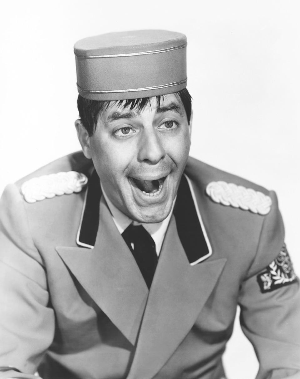 <p>Lewis made his directing debut in this slapstick farce, in which he stars as a dimwitted bellhop who stumbles from one goofy situation to another. His character is named Stanley, after Lewis's inspiration, Stan Laurel, of Laurel and Hardy fame. (Photo: Everett Collection) </p>