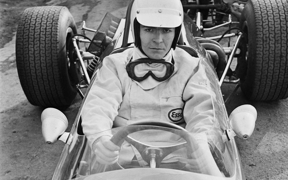 Max Mosley pictured in 1968 in his days as a racing driver - Express/Hulton Archive