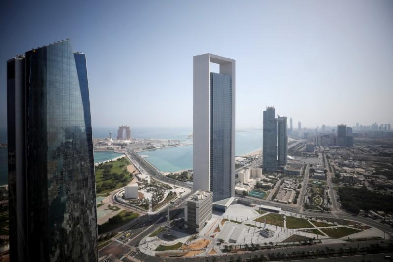 FILE PHOTO: A general view of ADNOC headquarters in Abu Dhabi