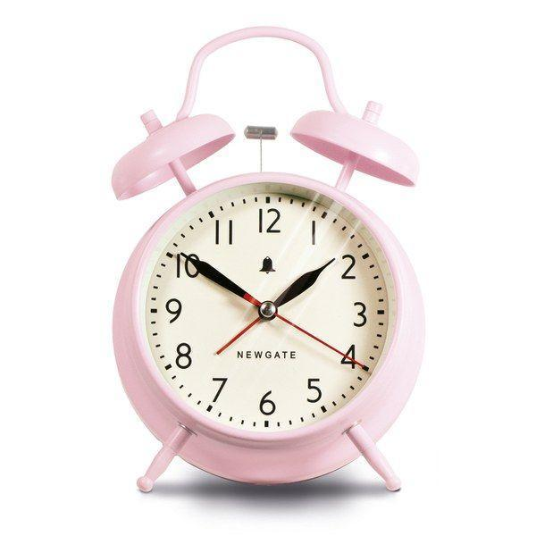 """<p>Tapping on this adorable alarm clock might be a much better way to wake than swiping the alarm on your phone.</p><p><strong>Newgate</strong> Covent Garden Alarm Clock, $35, available at <a href=""""https://www.burkedecor.com/products/the-new-covent-garden-alarm-clock-pink-design-by-newgate"""" rel=""""nofollow noopener"""" target=""""_blank"""" data-ylk=""""slk:Burke Decor"""" class=""""link rapid-noclick-resp"""">Burke Decor</a></p>"""