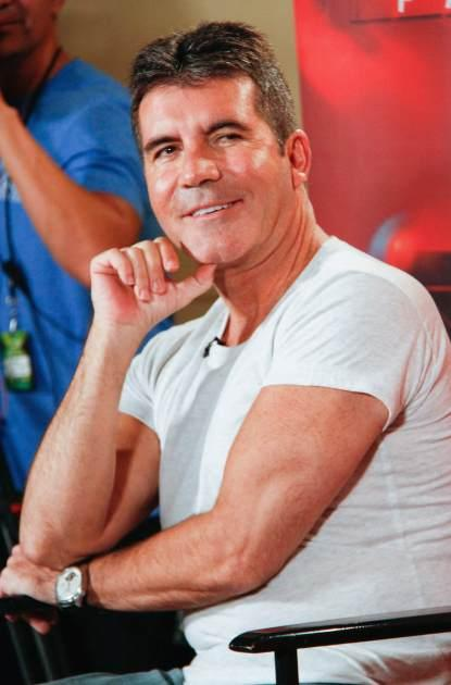 Simon Cowell attends the 'The X Factor' Judges press conference at Nassau Veterans Memorial Coliseum on June 20, 2013 in Uniondale, New York --