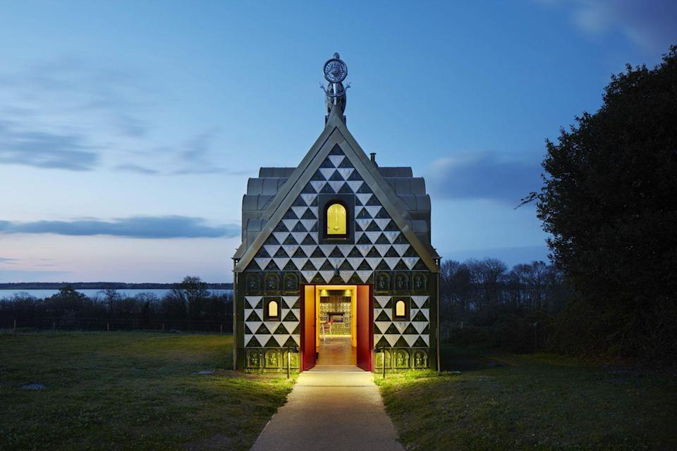 """<p>Formerly a director of avant-garde studio FAT, Charles Holland teamed up with artist Grayson Perry on the weird and wonderful House for Essex in 2015 (pictured). The designs coming out of his solo studio are in the same spirit, with a big injection of personality.</p><p><strong>They say </strong>'We react to the tastes and enthusiasms of our clients, drawing inspiration from their individuality. We consistently look to create spaces that offer enjoyment and visual richness.' <a href=""""http://www.charleshollandarchitects.co.uk/"""" rel=""""nofollow noopener"""" target=""""_blank"""" data-ylk=""""slk:charleshollandarchitects.co.uk"""" class=""""link rapid-noclick-resp"""">charleshollandarchitects.co.uk</a></p>"""