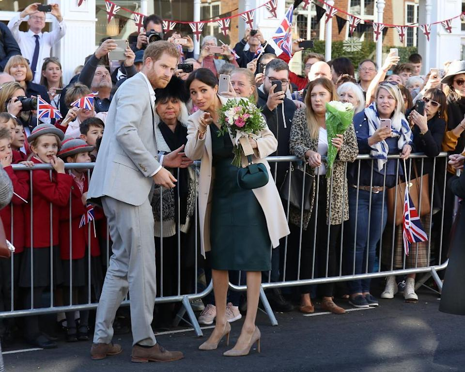 Harry and Meghan in 2018.