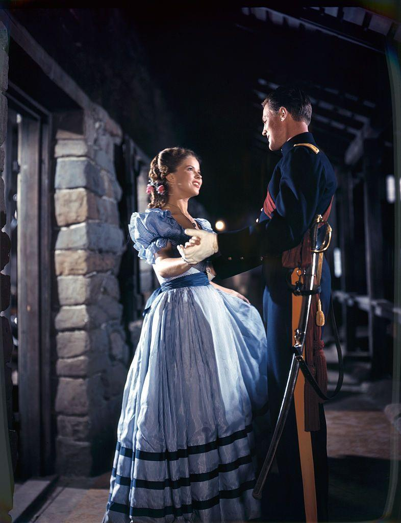 <p>In 1948, Shirley was in <em>Fort Apache</em>, which she starred in alongside her husband, John Agar. It became one of her most well-known movies of her adult career. </p>