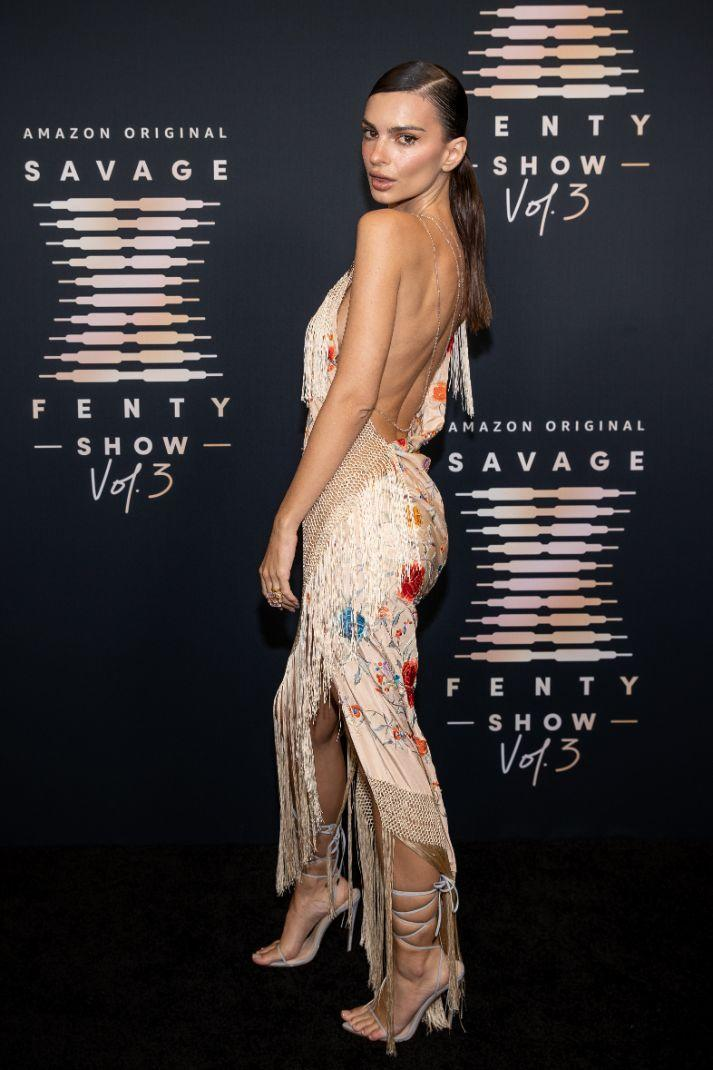 Emily Ratajkowski attends Rihanna & # x002019; s Savage X Fenty Show Vol.  3 presented by Amazon Prime Video at the Westin Bonaventure & Suites in Los Angeles, CA;  and aired on September 24, 2021. - Credit: courtesy of Amazon