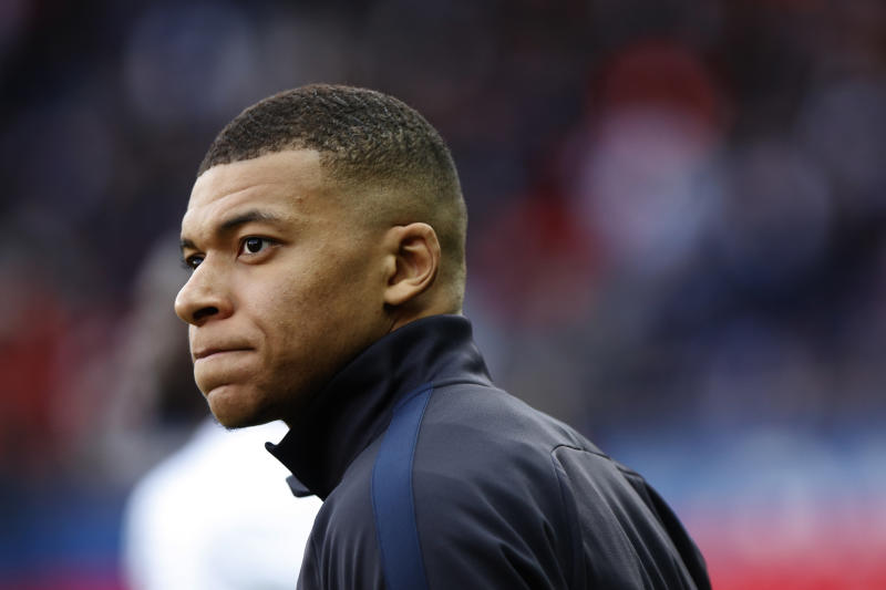 PSG striker Kylian Mbappé and other young stars aren't staying silent about the Black Lives Matter movement, police brutality or other serious social issues. (Photo by Mehdi Taamallah/NurPhoto via Getty Images)