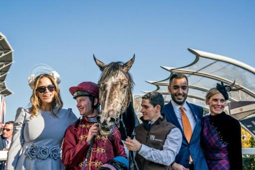 Sheikh Fahad Al Thani (2nd R) of Qatar Racing and jockey Oisin Murphy went close to winning the Derby in 2018 and on Saturday trainer Andrew Balding hopes they will taste victory in the race with his runner Kameko