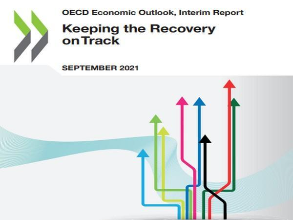 The OECD projects strong global growth of 5.7 pc this year and 4.5 pc in 2022