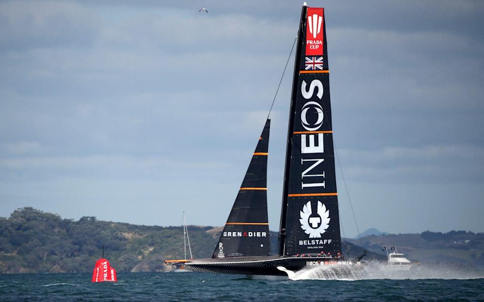 America's Cup 2021: Prada Cup sailing schedule, race times, TV channel and team news - GETTY IMAGES