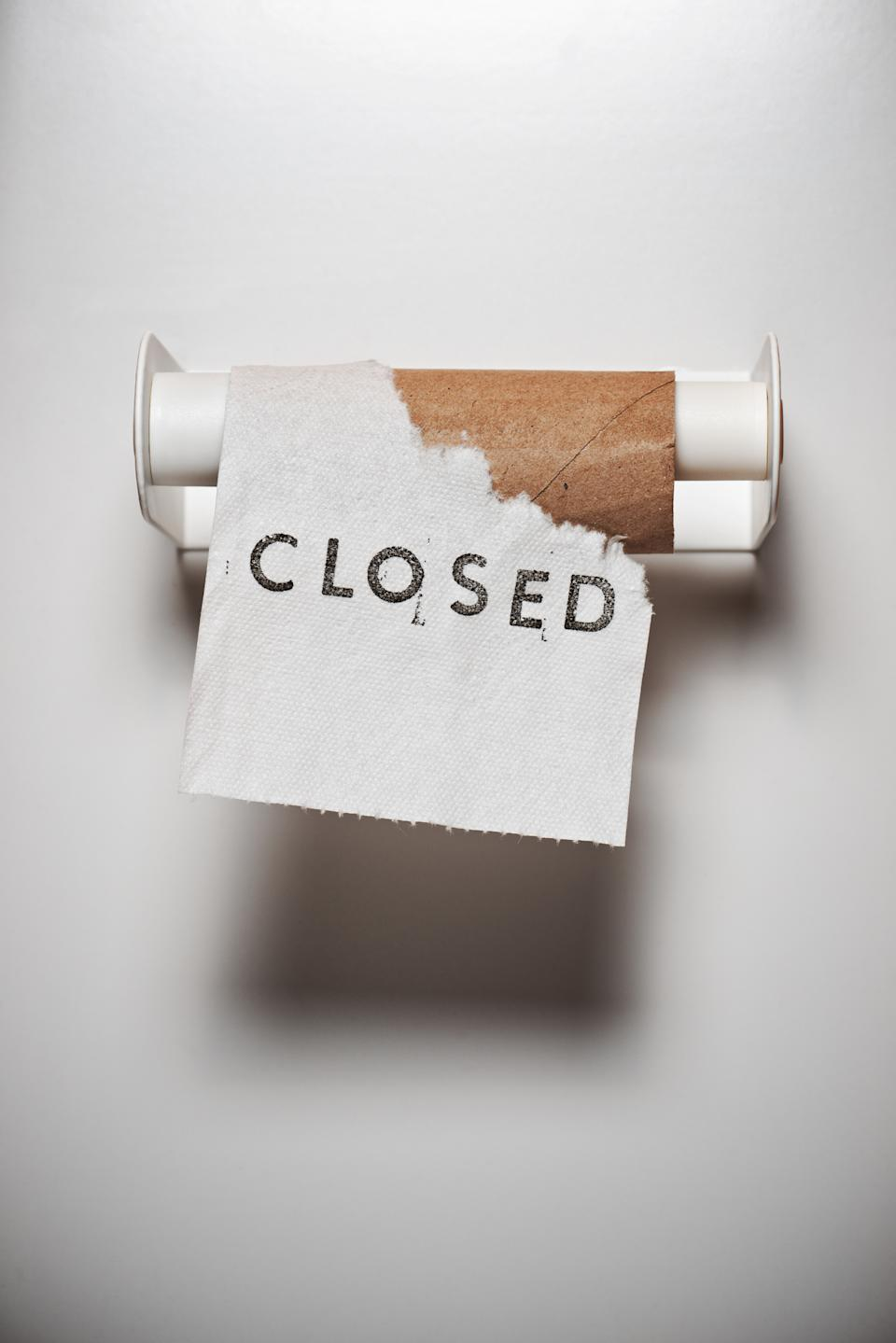 Many public toilets have closed since the start of the pandemic. (Getty Images)
