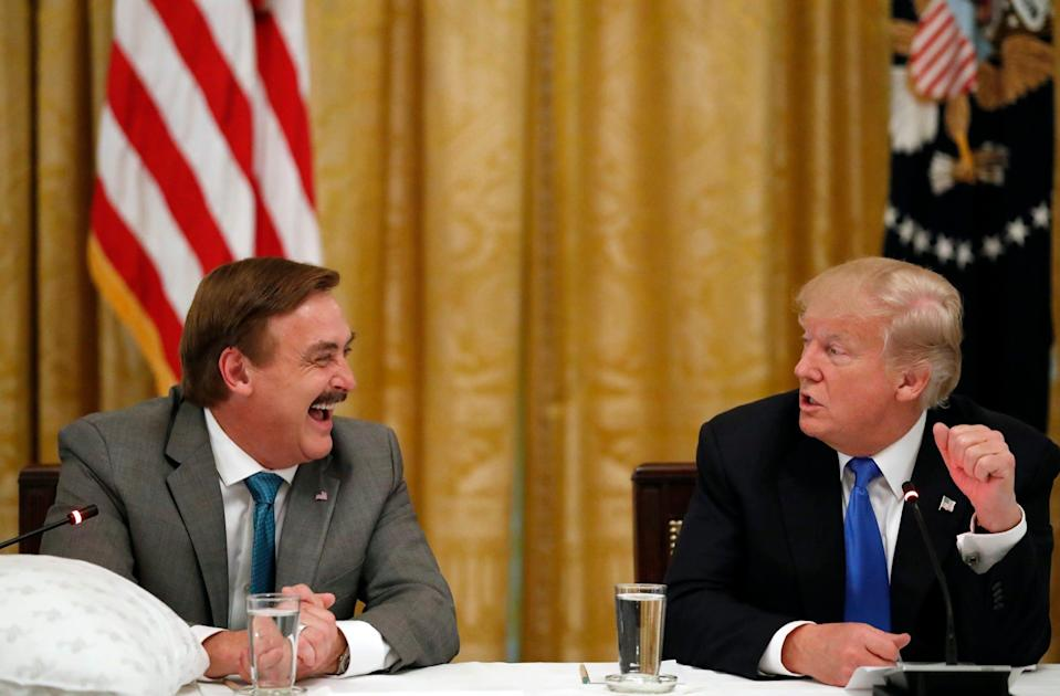trump my pillow mike lindell