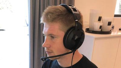 Turtle Beach enlists Manchester City and Belgian international midfielder Kevin De Bruyne as its latest athlete ambassador.