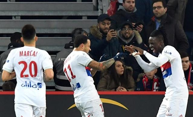 Bertrand Traore upped his tally to six goals for the season but Lyon are now winless in four league matches