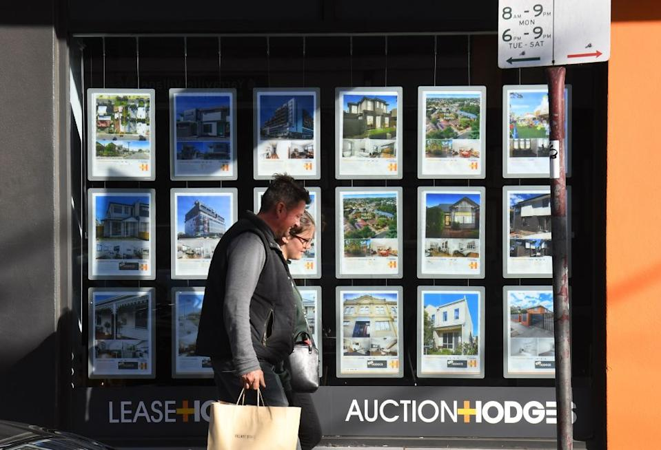 Australia's property prices are forcing people to buy their first home outside their home state. (Photo: WILLIAM WEST/AFP via Getty Images)