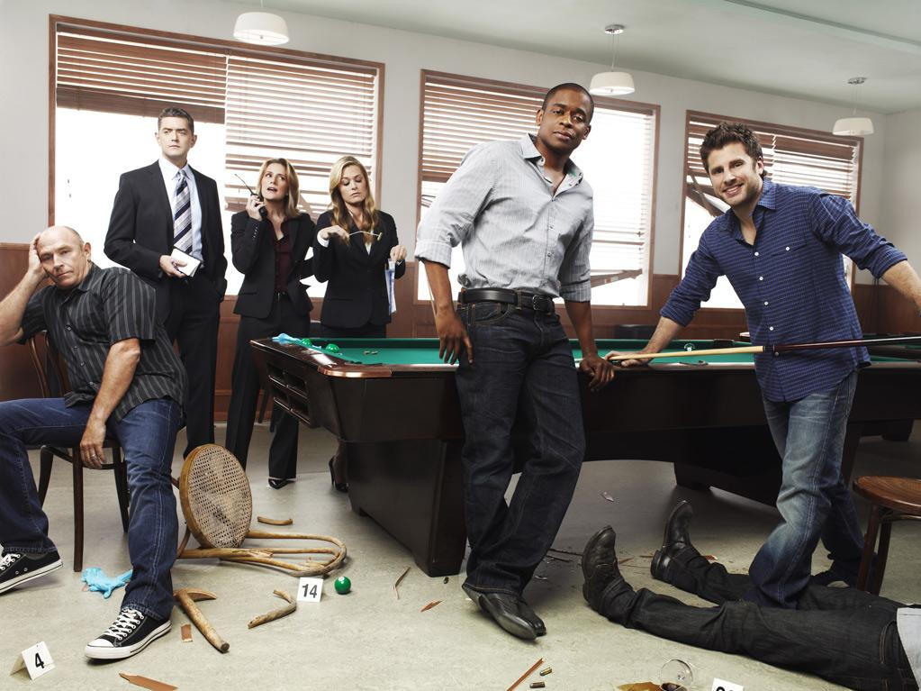 "The cast of ""Psych."""