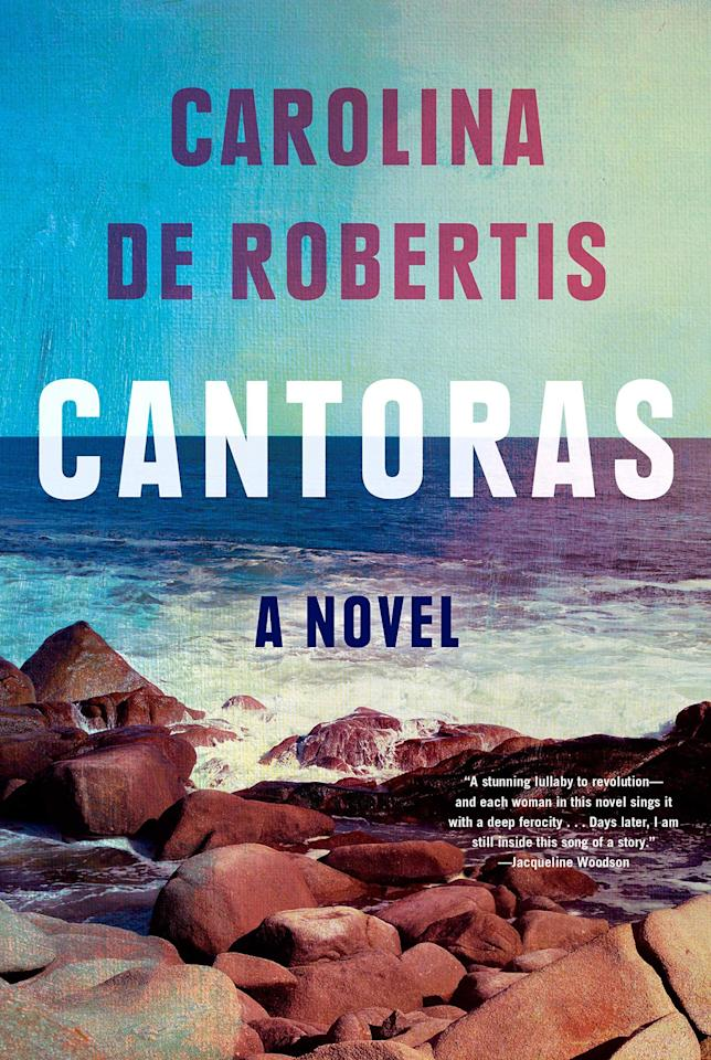 "The perspectives of five women living through an Uruguayan dictatorship propel this searing novel by The <em>Invisible Mountain</em> author De Robertis. The author sensitively and singularly touches on themes of queerness, community, and perseverance. (<a href=""https://www.amazon.com/Cantoras-novel-Carolina-Robertis/dp/0525521690/ref=sr_1_1?keywords=cantoras&qid=1567362867&s=books&sr=1-1"">Sept. 3</a>)"