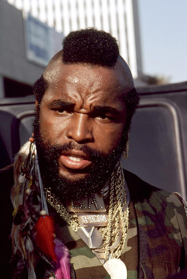 """THEN: <a href=""""http://movies.yahoo.com/movie/contributor/1800052740"""">MR. T</a>   With a Mohawk haircut copied out of """"National Geographic"""" and countless gold chains (reportedly worth $300,000 at the time), Laurence Tureaud transformed himself into Mr. T. Spotted by Sylvester Stallone on a TV competition, he was cast as Clubber Lang in """"Rocky III."""" The movie launched both his acting career and his catchphrase: """"I pity the fool.""""   At the height of his fame, Mr. T had his own action figures, records, Saturday morning cartoon show, and breakfast cereal (enjoyed by Pee Wee Herman in his """"Big Adventure""""). After """"The A-Team"""" ended, he never really left the public eye, appearing in commercials and on TV shows, usually as himself.   Mr. T was diagnosed with T-cell lymphoma in 1995, but after treatment he has been healthy for nearly a decade. He scored the biggest box-office hit of his career last year as a voice in the animated """"Cloudy With a Chance of Meatballs."""" He turned down the offer to cameo in the new """"A-Team"""" movie. He said he <a href=""""http://www.latinoreview.com/news/exclusive-sorry-fans-mr-t-will-not-appear-in-the-a-team-remake-8869"""">didn't object to the remake</a>, but that it just didn't interest him. There were reports that Mr. T had derided the movie for being """"too graphic,"""" but <a href=""""http://popwatch.ew.com/2010/06/10/mr-t-a-team-movie-denies-graphic/"""">his lawyer stated</a> that he had not seen it and would not comment on it."""