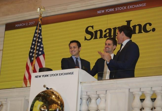 snapchat, snap ipo, snap listing, snap ceo evan spiegel, snap cto bobby murphy, nyse listing snap, twitter listing, twitter ipo