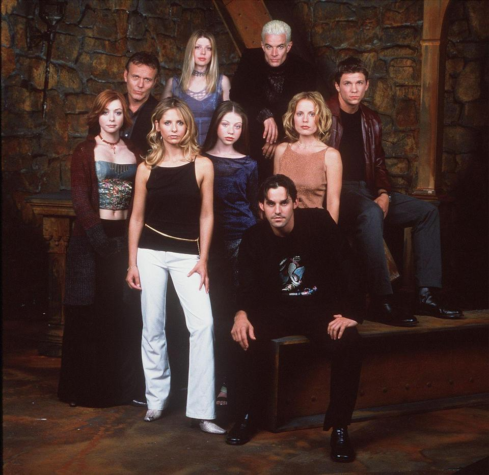 """<p>Based the 1992 movie, the show follows Buffy Summers (played by Sarah Michelle Geller) as she battles evil forces in her small town of Sunnydale. A seemingly mild-mannered high school student by day, Buffy is one of a long line of """"Slayers"""" who have supernatural strength, endurance, healing, and agility used to fight off evil. You'll have six seasons to enjoy Buffy and her """"Scooby gang"""" of pals (Willow, Rupert, Xander, Jenny, and Daniel) as they fight evil creatures of all kinds at Sunnydale High and of course, plenty of vampires along the way. </p><p> <strong>Where to Watch: </strong><a href=""""https://www.hulu.com/series/buffy-the-vampire-slayer-f2c277c5-62b4-417c-b277-8435b70176dd"""" rel=""""nofollow noopener"""" target=""""_blank"""" data-ylk=""""slk:Hulu"""" class=""""link rapid-noclick-resp"""">Hulu</a> <em>(six seasons)</em></p>"""
