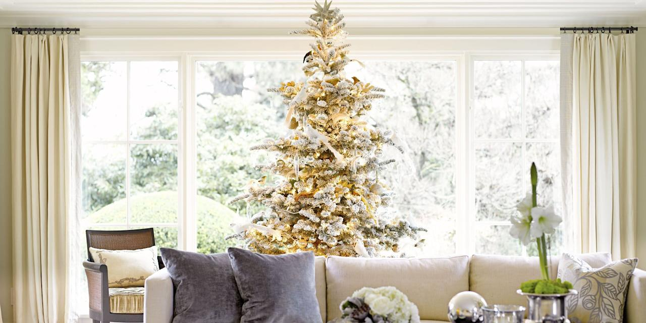 """<p><a href=""""https://www.goodhousekeeping.com/holidays/christmas-ideas/g1863/fake-christmas-trees/"""" target=""""_blank"""">Christmas trees </a>are the focal point in your house during the holiday season, which makes perfect sense given the amount of time <em>and</em> money you invest in finding the right tree, <a href=""""https://www.goodhousekeeping.com/holidays/christmas-ideas/g393/homemade-christmas-ornaments/"""" target=""""_blank"""">ornaments</a>, <a href=""""https://www.goodhousekeeping.com/holidays/christmas-ideas/g2721/christmas-tree-toppers/"""" target=""""_blank"""">tree toppers</a>, tree skirts, garland, and other on-theme decorations. There's always room for a classic tree in your living room, but these creative Christmas tree ideas may inspire you to think beyond traditional red and green décor for a more unique (dare we say, unusual?) statement. So, first dust off your artificial Christmas tree — flocked, white, silver, or green — or head <a href=""""https://www.goodhousekeeping.com/holidays/christmas-ideas/g24485034/christmas-tree-farms-near-me/"""" target=""""_blank"""">to the nearest farm </a>to pick out a fresh one. Then comes the fun part: Taking a look at these <a href=""""https://www.goodhousekeeping.com/holidays/christmas-ideas/how-to/g2203/christmas-decoration-ideas/"""" target=""""_blank"""">Christmas tree decoration ideas</a> until you find a theme that makes you feel merry and bright.</p><p>Since everyone has a different idea of """"the perfect tree,"""" this list is full of decorating ideas for trees of all shapes, sizes, and colors. Even better: You'll find a style that complements your day-to-day décor, ranging from rustic chic to elegant glamour. <br></p>"""