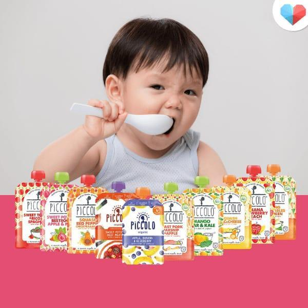 Flavorful Baby Food: Piccolo organic