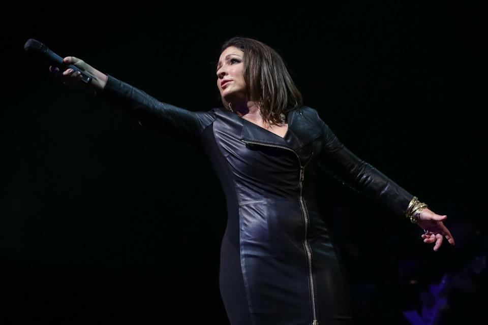 """<p>The durable star, who was born in Havana, Cuba and raised in Miami, has had 11 top 10 hits, combining solo releases and her earlier hits fronting Miami Sound Machine. The tally includes three No. 1s, """"Anything For You,"""" """"Don't Wanna Lose You"""" and """"Coming Out Of The Dark."""" Estefan's last big crossover hit was """"Music Of My Heart,"""" a 1999 collabo with *NSYNC. (Photo: Brent N. Clarke/WireImage)</p>"""