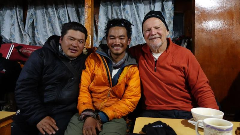 Mt. Everest Hopeful Saw Friend Killed, Now Works for Sherpas