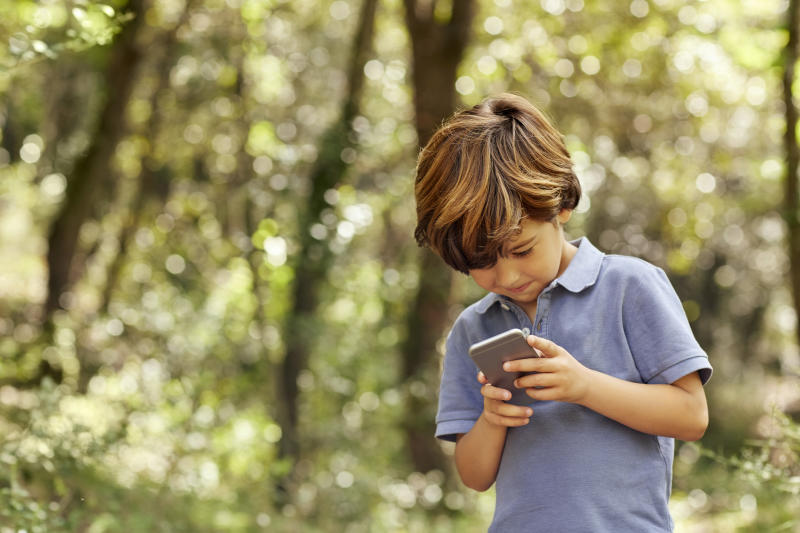 Children are getting their own mobile phones much earlier [Photo: Getty]