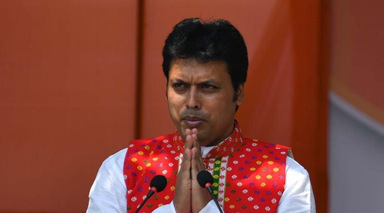 Biplab Deb wants to develop Tripura police as best in country, changes TSR uniform